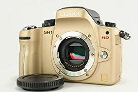【中古】Panasonic デジタル一眼カメラ LUMIX GH1 ボディ コンフォートゴールド DMC-GH1-N