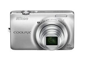 【中古】Nikon デジタルカメラ COOLPIX (クールピクス) S6300 クリスタルシルバー S6300SL