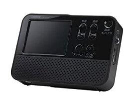 【中古】ロジテック FM/AMポータブルラジオ 2.8インチ液晶搭載 ワンセグテレビ付き ワイドFM対応 LTV-1S280P