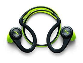 【中古】Plantronics BackBeat FIT Wireless Stereo Headphones with Armband for Smartphone - Green
