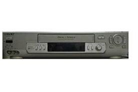 【中古】SONY VHSビデオデッキ ソニー SLV-R550 リモコン付き