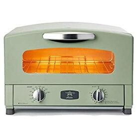 【中古】Aladdin (アラジン) グラファイト トースター 2枚焼き 温度調節機能 タイマー機能付き [遠赤グラファイト 搭載] グリーン CAT-GS13B(G)