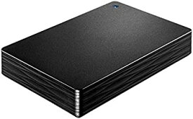 【中古】I-O DATA USB 3.1 Gen 1/2.0対応 ポータブルハードディスク 「カクうす Lite」 ブラック 2TB HDPH-UT2DKR