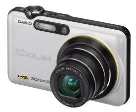 【中古】CASIO デジタルカメラ HI-SPEED EXILIM EX-FC100 ホワイト EX-FC100WE