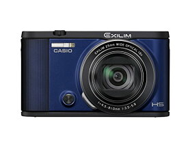 【中古】CASIO デジタルカメラ EXILIM EX-ZR1600BE 自分撮りチルト液晶 オートトランスファー機能 Wi-Fi/Bluetooth搭載 ブルー