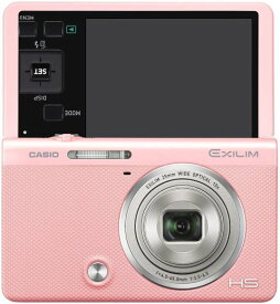 【中古】CASIO デジタルカメラ EXILIM EX-ZR70PK 「自分撮りチルト液晶」 「メイクアップ&セルフィーアート」 EXZR70 ピンク
