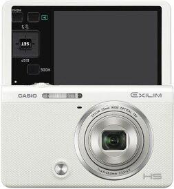 【中古】CASIO デジタルカメラ EXILIM EX-ZR70WE 「自分撮りチルト液晶」 「メイクアップ&セルフィーアート」 EXZR70 ホワイト