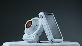 【中古】CASIO デジタルカメラ EXILIM EX-FR100LWE カメラ部/モニター部分離 セルフィーが簡単 3つのこだわり自分撮り機能