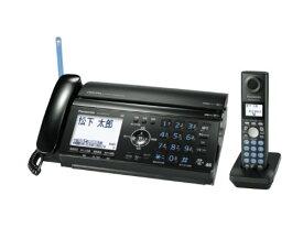 【中古】パナソニック おたっくす デジタルコードレスFAX 子機1台付き ブラック KX-PW521XL-K