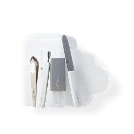 KOBAKO ネイルケアセット | ネイルファイル キューティクルリムーバー キューティクルプッシャーL マルチリムーバークロス(3枚) コンパクトニッパー 貝印 KOBAKO 公式 ビューティーツール 送料無料