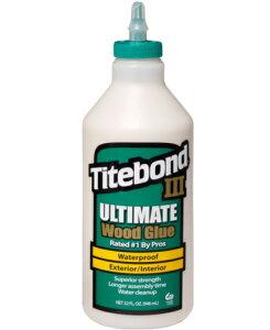 タイトボンド3 1/4ガロン(1,040g)ケース6本入り(お取り寄せ品)