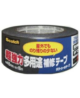 3M(スリーエム) 超強力多用途補修テープ ダクトシールテープ (DUCT−NR18) 48×18m