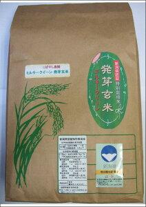 新潟県産 特別栽培米 発芽玄米 ミルキークイーン 5kg 令和元年産(減農薬・減化学肥料栽培米)