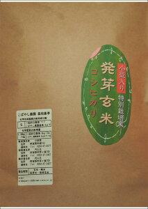 こばやし農園「発芽玄米」コシヒカリ(小豆入り)1kg 令和元年産(新潟県産 特別栽培米)