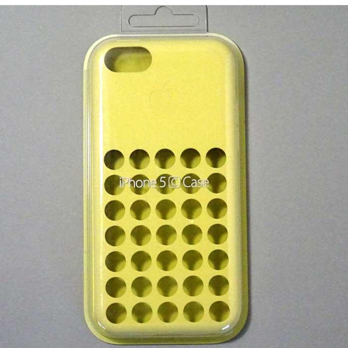 iPhone5c ケース イエロー(APL59114)