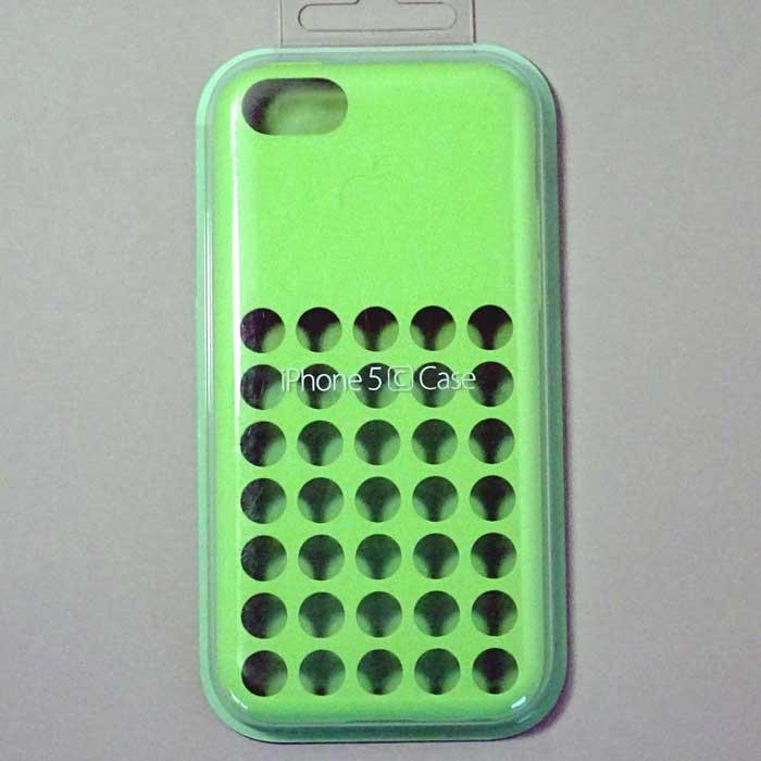 iPhone5c ケース グリーン(APL59130)