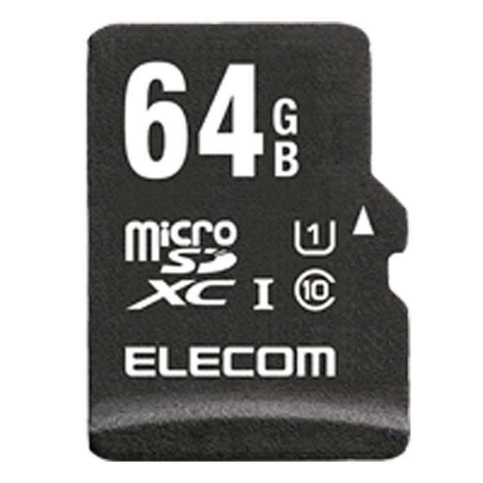 ELECOM microSDHCカード/ ネットワークカメラ・ドライブレコーダー用/ UHS-I U1/ Class10/ 64GB MF-MR064GU11/H