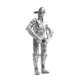 ピンズ STARWARS Collection Jewelry スター・ウォーズ エピソード7 フォースの覚醒 C-3PO シルバーピンズ 専用ボックス【コンビニ受取対応商品】