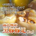 ■南九州産黒豚豚足(1kg)■【820円】【冷凍】とんそく トンソク