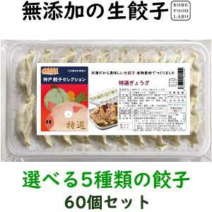 美味しい無添加餃子5種類から選べる冷凍生餃子3パック 60個オリジナル特製餃子のたれ100mlボトル3,600円 送料込み(一部地域除外)お好きな餃子を3パックお選び下さい