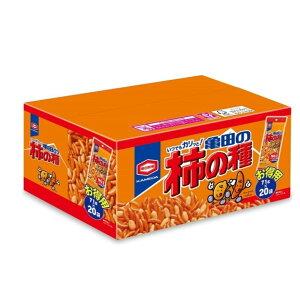 亀田 柿の種 小袋 20袋 柿ピー お菓子 おつまみ おかき 小分け 大容量 箱 BOX