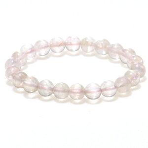 【4月誕生石】ピンクの妖精♪ローズクォーツオーラ 8mm ブレスレット