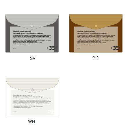 ビニールブリーフケース メタリックSDELFONICS デルフォニックスB5サイズ・書類入れ500114-VC29【ネコポス便可】
