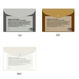 ビニールブリーフケース メタリックSDELFONICS デルフォニックスB5サイズ・書類入れ500114-VC29【追跡可能メール便可】