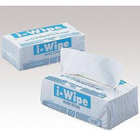 【本日楽天ポイント5倍相当】アズワン株式会社 アイワイプ(i-Wipe) ホワイト 150枚(75組)×50袋入[品番:5-5378-04]【RCP】