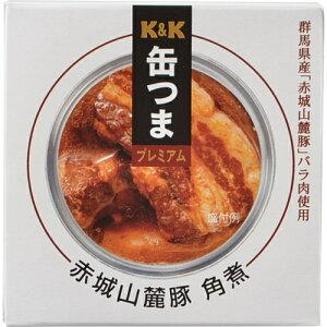 缶つまプレミアム 群馬県産 赤城山麓豚角煮 150g 6個