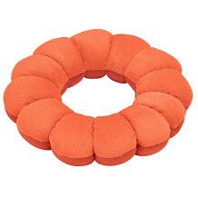 フランスベッド株式会社スリープバンテージフルールオレンジ1個<ドーナツ型座布団・枕>(商品発送まで6-10日間程度かかります)(この商品は注文後のキャンセルができません)