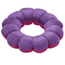 フランスベッド株式会社スリープバンテージフルールパープル1個<ドーナツ型座布団・枕>(商品発送まで6-10日間程度かかります)(この商品は注文後のキャンセルができません)
