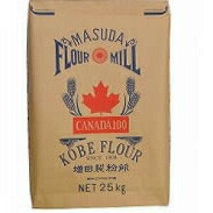 株式会社増田製粉所 パン用粉 カナダ100[業務用]25kg<強力粉><カナダ産の良質の小麦粉。あらゆる製パン法に対応><メリケン粉由来の街、兵庫県神戸市からお届けする小麦粉>(商品