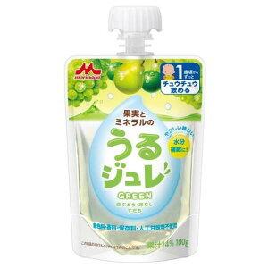 森永乳業株式会社果実とミネラルのうるジュレ GREEN 100g×6個【RCP】