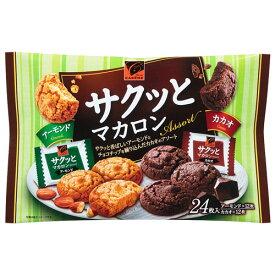 カバヤ食品株式会社カレーム サクッとマカロン アーモンド&カカオ(24枚入)×24個セット