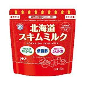 雪印メグミルク株式会社 北海道スキムミルク 180g<北海道産の生乳を100%使用しています>【北海道・沖縄は別途送料必要】