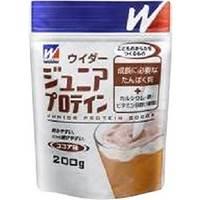 【ポイント13倍相当】森永ウイダージュニアプロテイン200g(1袋)ココア味【RCP】