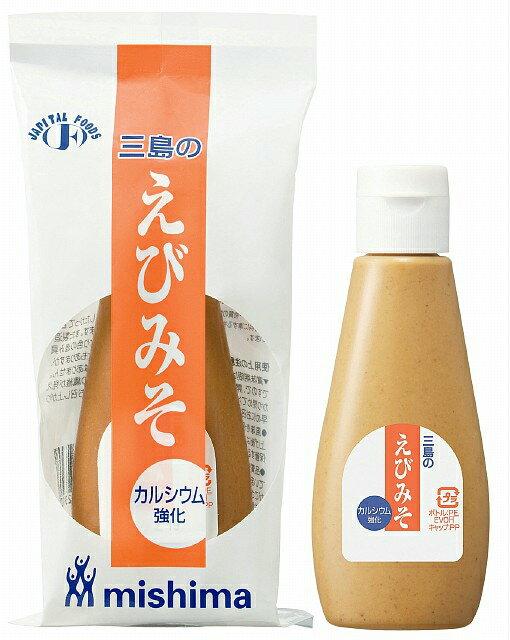 【ポイント13倍相当】三島食品株式会社ミニボトル入り カルシウム強化 えびみそ 135g × 30【JAPITALFOODS】【RCP】