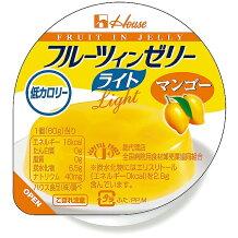ハウス食品株式会社フルーツインゼリーライトマンゴー【JAPITALFOODS】