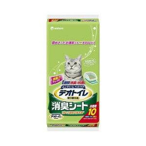 ユニ・チャーム ペットケアデオトイレ 取りかえ専用 消臭シート(10枚入)