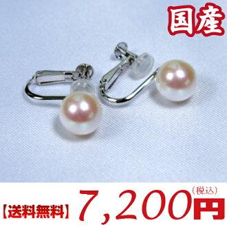 Japan production Akoya pearl earrings:8.5-9 mm (Oh Akoya pearl earrings, pearl earrings, pearl earrings, Japanese pearl earrings, Akoya part, Akoya pearls, Akoya pearls, Japanese Pearl, this Akoya pearls, pearl earrings, Oh Akoya earrings, Akoya earrings)