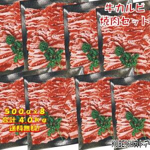 【29日(肉の日)限定!20%OFFクーポン配布中】焼き肉 バーベキュー 食材 BBQ 肉 焼肉セット カルビ バラ バーベキュー 肉 バーベキューセット 食材 BBQ食材セット BBQ 焼肉 牛丼 牛肉 4kg 送料無料 12