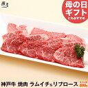 【母の日 にもおすすめ】神戸牛 焼肉 セット ラムイチ&リブロース 800g(冷蔵)【送料無料 あす楽対応】【ギフト 内…