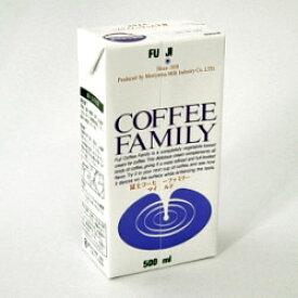富士コーヒーファミリー 500ml【コーヒーミルク】神戸珈琲物語 50003