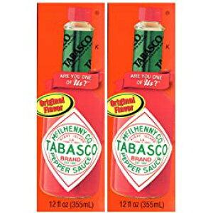 TABASCO タバスコ オリジナルペッパーソース 355ml×2本セット 送料無料 コストコ商品