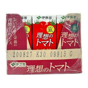 伊藤園 理想のトマト 200ml紙パック×24本入×(2ケース) 送料無料 コストコ商品