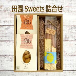 ■アンジェリーナ■田園Sweets詰合せ送料無料無添加 安心 贈答用 ギフト プレゼントお返し クッキー 詰め合わせ かわいいありがとう 山田錦