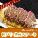 【2個のご注文or他商品同梱で送料無料】やわらか〜い♪神戸牛 熟成ステーキ 3枚