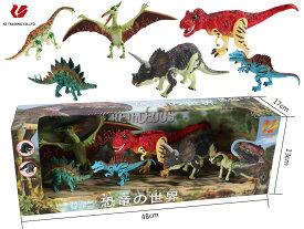料無料 子供 キッズ ギフト 恐竜おもちゃ 恐竜 フィギュア DINOSAUR MODEL ダイナソーモデル 本格的なリアルフィギュア【 フィギア ソフビ ソフトビニール 人形 模型 おもちゃ 玩具 】 可動できる恐竜おもちゃ 可動できる恐竜フィギュア 恐竜の世界セットD