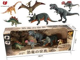 料無料 子供 キッズ ギフト 恐竜おもちゃ 恐竜 フィギュア DINOSAUR MODEL ダイナソーモデル 本格的なリアルフィギュア【 フィギア ソフビ ソフトビニール 人形 模型 おもちゃ 玩具 】 可動できる恐竜おもちゃ 可動できる恐竜フィギュア 恐竜の世界セットC